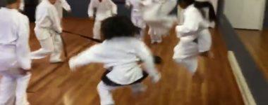 Kids Karate Team Drill (video)…