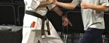 Self Defense Class at High School…